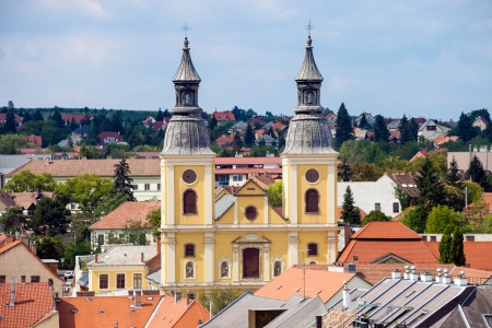 The Cistercian Church in Eger, Hungary. photo