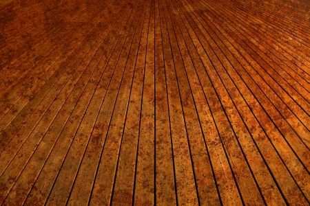 Wooden planks in spots  photo
