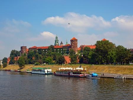 wawel: Wawel Royal Castle in Krakow, Poland.