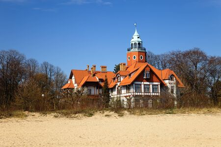 Typical architecture of Sopot, Poland  photo