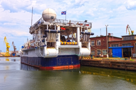 polar station: Research vessel designed to conduct research at sea