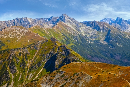 View of the Tatra mountains, Poland  photo