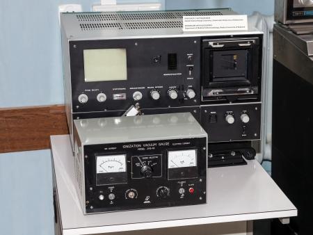 ionizer: Microscope and ionizer - Medical laboratory of the last century. Editorial