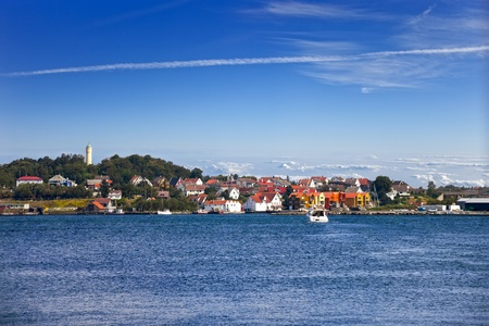 Norwegian city of Stavanger is one of most famous cruise travel destinations in Europe  photo