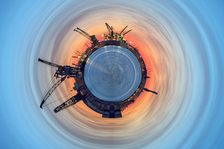 Industrial World - a vision of humorous  photo