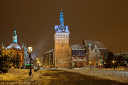 The Torture House and Prison Tower in Gdansk, Poland  photo