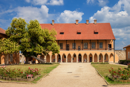 The Gothic Palace in the Castle of Eger, Hungary
