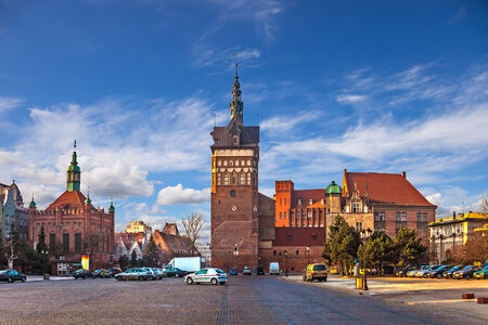gdansk: Torture House and Prison Tower in Gdansk, Poland