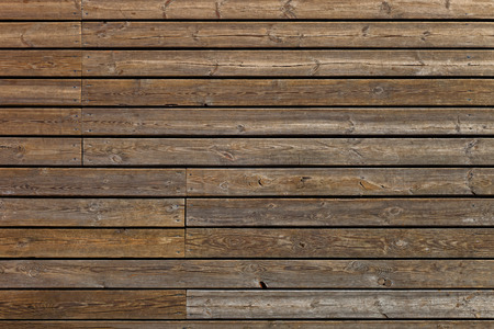 Old wooden boards background of brown color  photo
