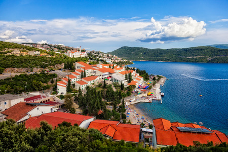 The tourist resort of Neum, Bosnia Herzegovina