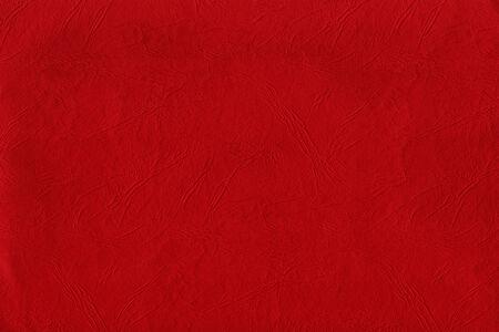 wrinkled paper: Rode gerimpelde papier textuur. Stockfoto