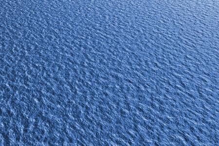 tonalit�: Gros plan de la surface de l'eau rid�e dans la tonalit� bleue.