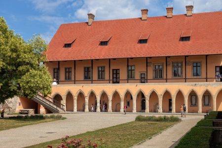 The Gothic Palace in the Castle of Eger, Hungary.