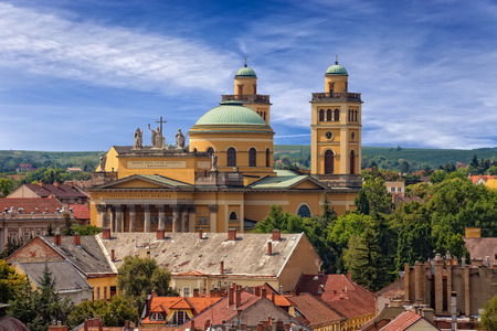 The Basilica is the only Classicist building in Eger and the second largest church in Hungary. photo