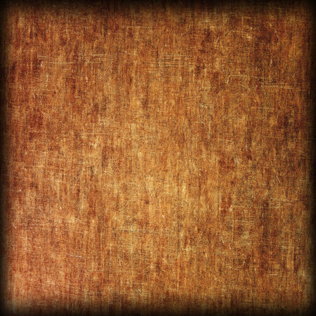 wood grain: Grungy and worn brown texture as abstract background. Stock Photo