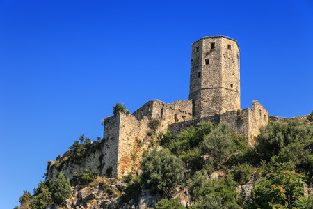 bosnia: The Citadel of Pocitelj in the valley of the river Neretva, Bosnia and Herzegovina.