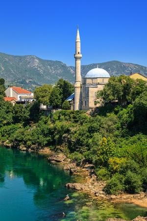 mehmed: Koski Mehmed Pasha Mosque in Mostar, Bosnia and Herzegovina.