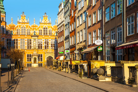 mannerism: The Great Armory or Great Arsenal it is considered one of the best examples of Dutch Mannerism architecture in the city, on March 19, 2015 in Gdansk, Poland.