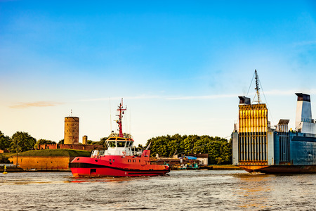 Ro-ro statek zawinie do portu w Gdańsku.