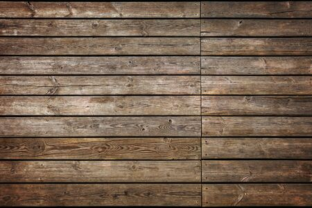 grunge wood: Part of old wooden pier made from planks. Stock Photo