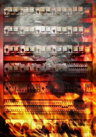rusty: Sobrecarga en el circuito eléctrico que cause cortocircuito eléctrico e incendio.