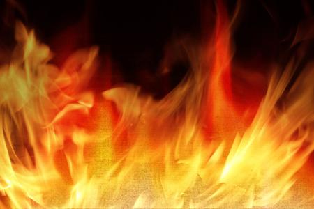 炎 - 火災安全コンセプトで火に Farbic。