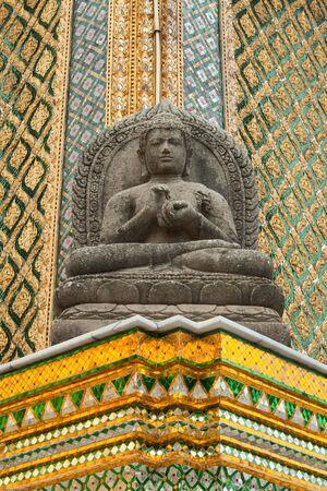 Statue of Buddha,buddha image at emerald buddha temple, bangkok, thailand