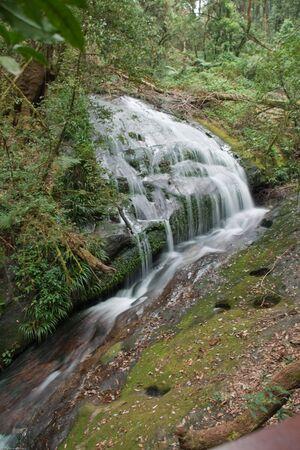 source d eau: source d'eau � partir du sommet de la montagne Inthanon