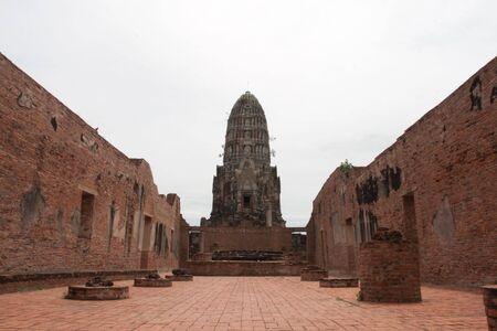 Wat Ratburana Temple, Ayutthaya, Thailand