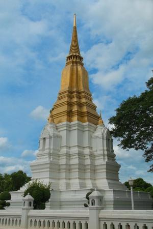 Chedi Srisuriyothai (Srisuriyothais cremate place) Ayutthaya,Thailand Stock Photo
