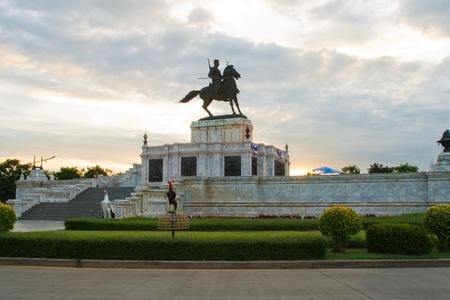 Naresuan Monument (king of ayutthayas history period) the great king Naresuan ,Ayutthaya,Thailand