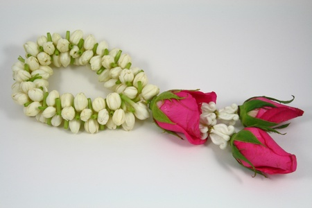 jasmine garland swag by the rose