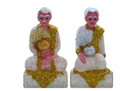 believable: guardian spirit grandfather and father (deva) doll,thai spirit believable,for watch over the house