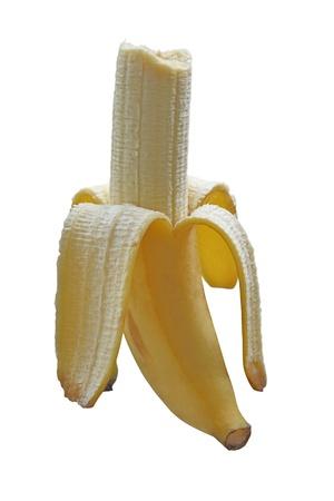 banana high vitamin b,and potassium  Stock Photo