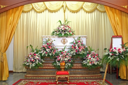 the funeral ceremonial