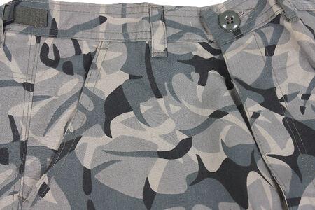 abstract camoflage military pocket pants