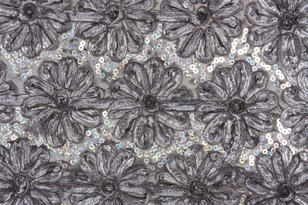 the beautiful ribbon light gray chrysanthemum background