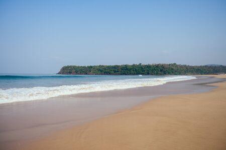 Cola Colva beach in paradise Goa copyspase.