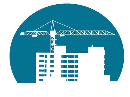 建設建築建築や工業デザインのための記号  イラスト・ベクター素材