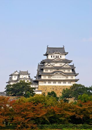 Himeji Castle is the most well preserved castle in all of Japan  It has stood untouched by war and other destructive agents for well over 400 years