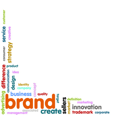 Brand Concept word cloud photo