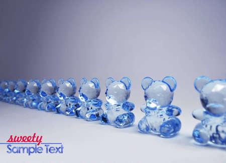 lucidity: sweety glass bear