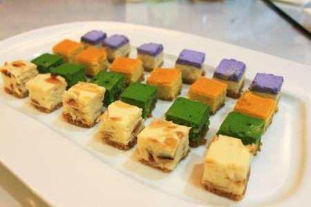 surfeit: dessert Stock Photo