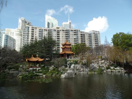 solemn land: Chinese Garden of Friendship Editorial
