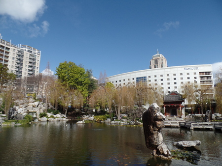 solemn land: Sydney Chinese Garden