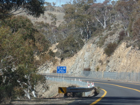 ministers: Road Trip to Snowy Mountains Stock Photo