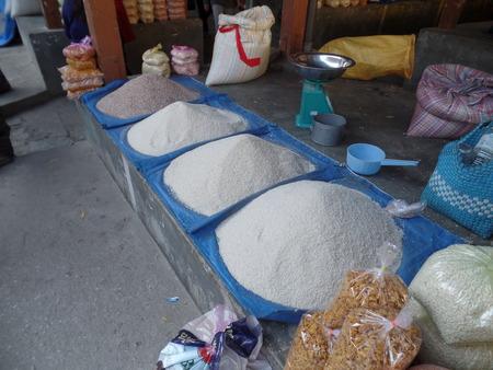 Rice at Centenary Farmers Market Thimphu