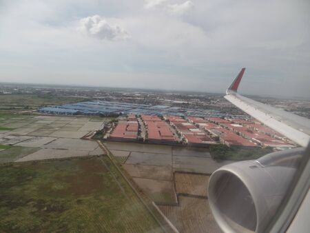 Approaching Jakarta Soekarno-Hatta International Airport