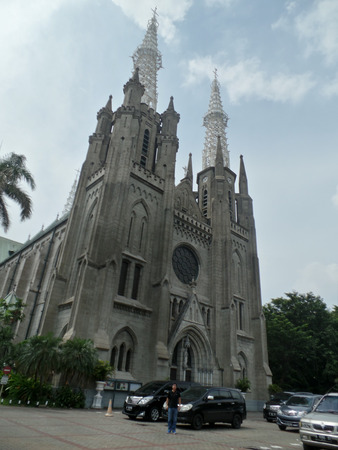 Roman Catholic Church in Jakarta Indonesia