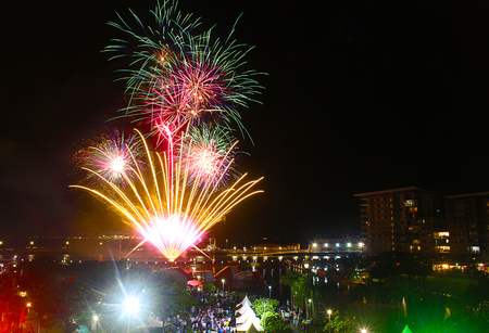 Fireworks at Darwin Waterfront
